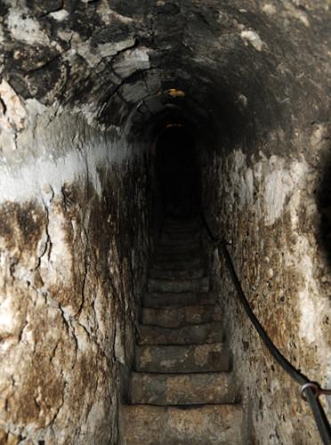 Romania Bran Castle Stairs