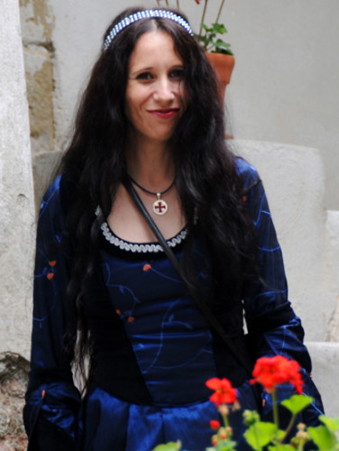 Romania Bran Castle Woman