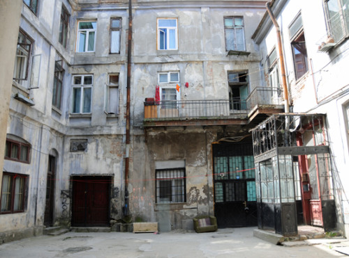 Romania Bucharest Apartments Ghetto