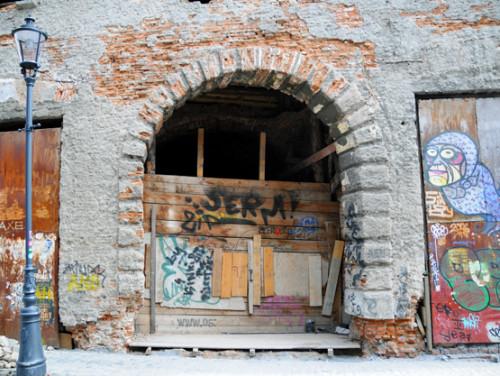 Romania Bucharest Old Town Ghetto