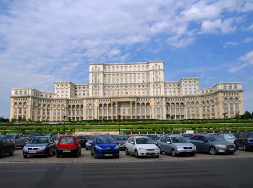 Romania Bucharest Parliment