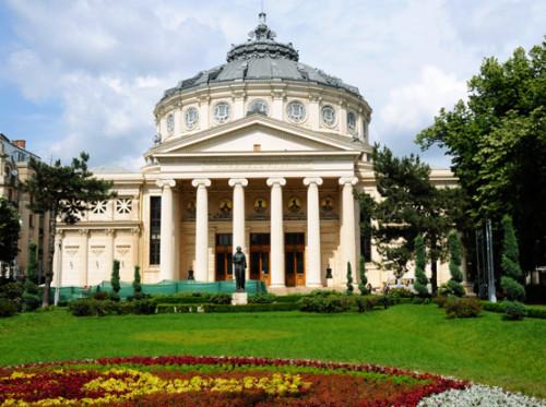 Romania Bucharest Theater