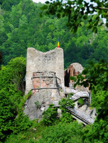 Romania Poenari Castle