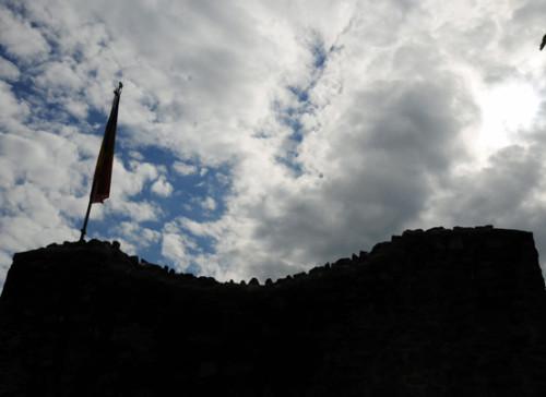 Romania Poenari Castle Top