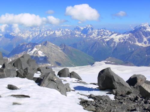 Russia Caucasus Mountains