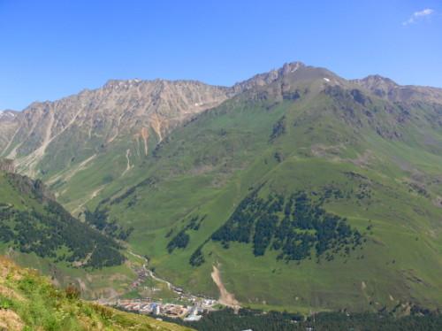 Russia Caucasus Town