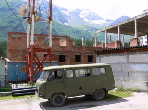 Russia Elbrus Village