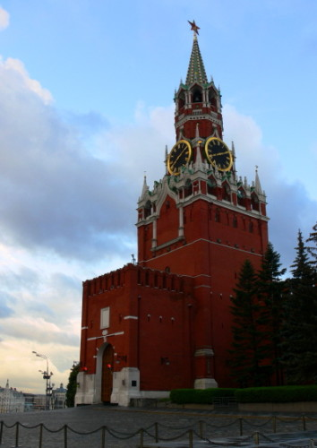 Russia Kremlin Entrance