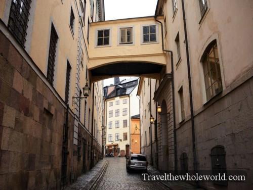 Sweden Arch in Gamla Stan