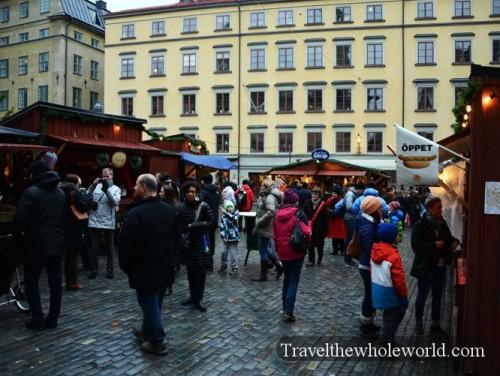 Sweden Gamla Stan Christmas Market