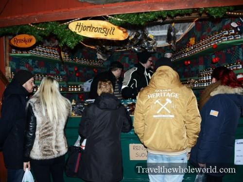 Sweden Gamla Stan Christmas Market Bread
