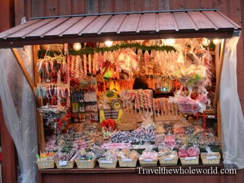 Sweden Gamla Stan Christmas Market Candy