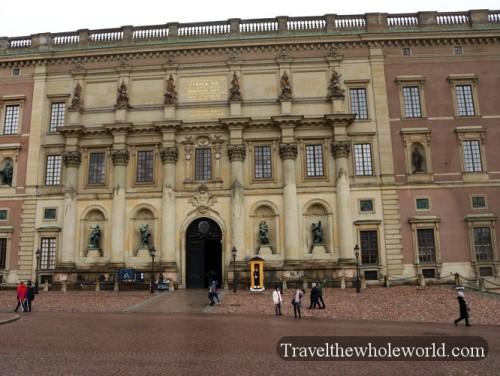 Sweden Stockholm Royal Palace