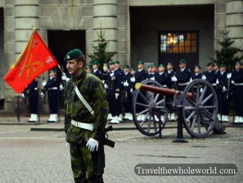 Sweden Stockholm Military Ceremony