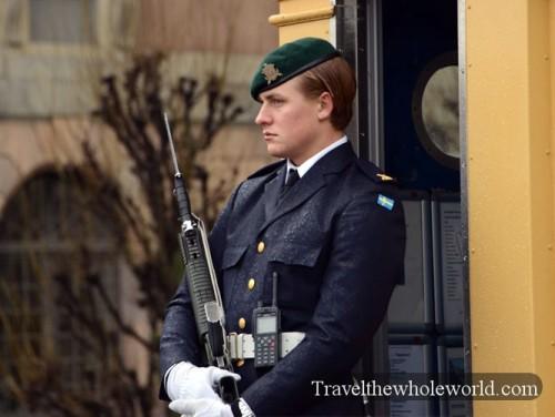 Sweden Stockholm Royal Palace Guard