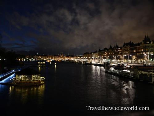 Sweden Stockholm Night