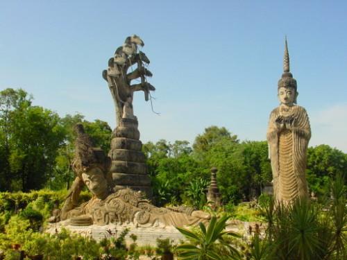 Thailand Statue Recling Buddha