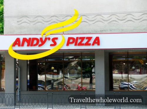 Transnistria Tiraspol Andys Pizza
