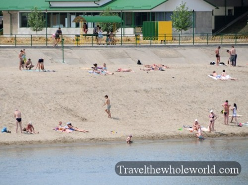 Transnistria Tiraspol Beach
