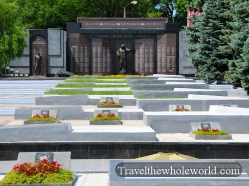 Transnistria Tiraspol Civil War Memorial