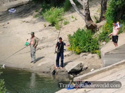 Transnistria Tiraspol Fishing