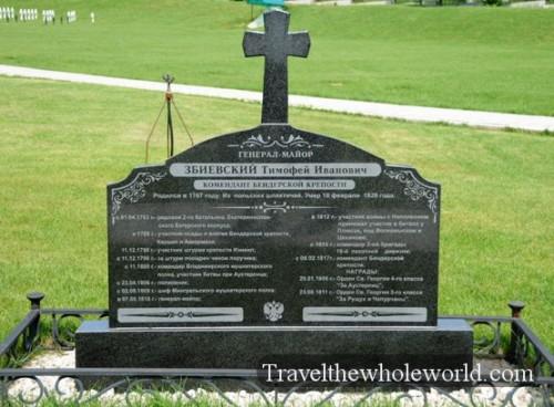 Transnistria Tiraspol Grave