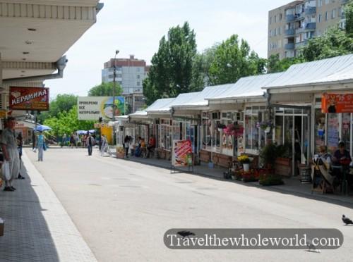 Transnistria Tiraspol Market