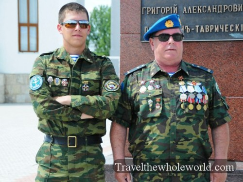 Transnistria Tiraspol Ukraine Soldiers