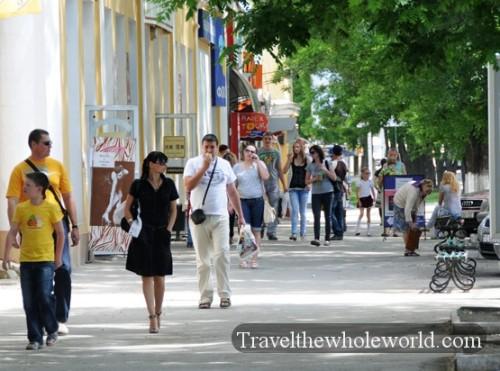 Transnistria Tiraspol Shopping District