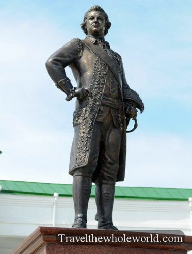 Transnistria Tiraspol Statue