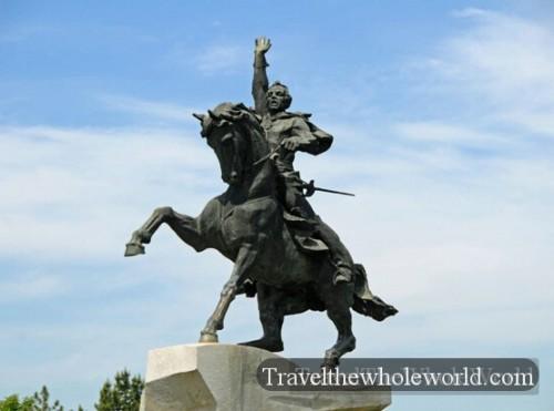 Transnistria Tiraspol Suvorov Statue