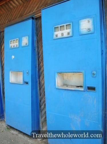 Transnistria Tiraspol Vending Machine