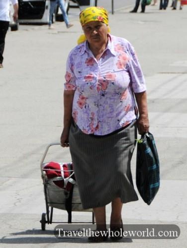 Transnistria Tiraspol Woman