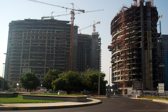 UAE Abu Dhabi Construction