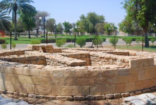 UAE Al Ain Hili Archaeological Column