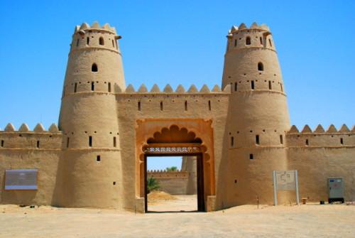 UAE Al Ain Jahili_Fort_Entrance