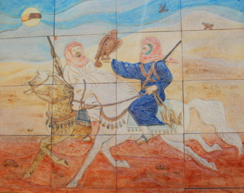 UAE Al Ain Museum Art