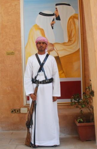UAE Al Ain Museum Soldier