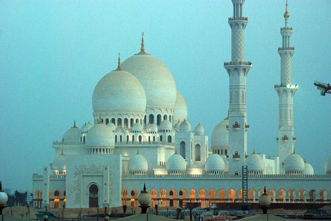 UAE Sheikh Zayed Grand Mosque