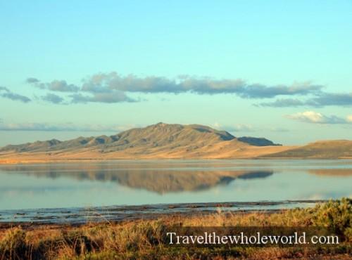 Utah Salt Lake Antelope Island