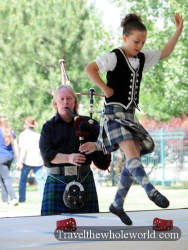 Utah Salt Lake City Scottish Festival Dance