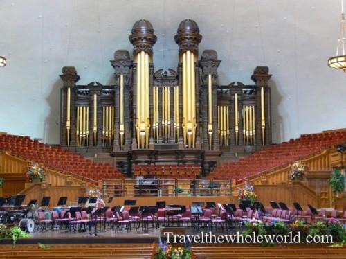 Utah Salt Lake Temple Square Organ