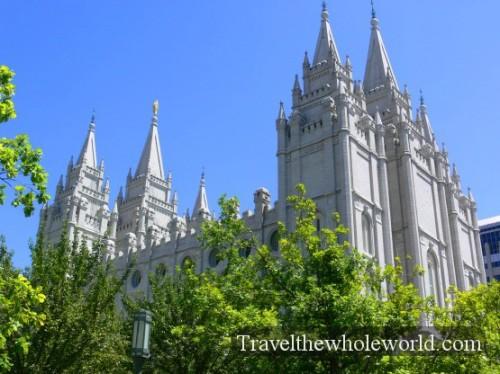 Utah Salt Lake Temple Square