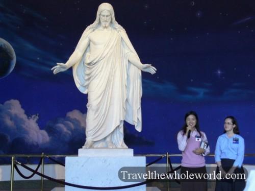 Utah Salt Lake Temple Square Jesus