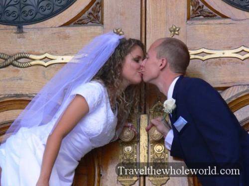 Utah Salt Lake Temple Square Wedding