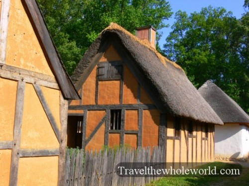 Viginia-Jamestown-House
