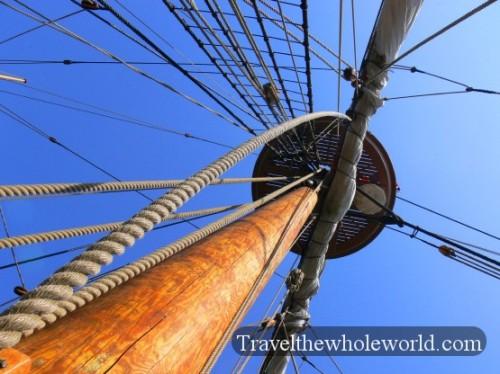 Viginia Jamestown Mast