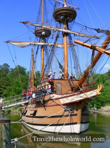 Viginia Jamestown Ship
