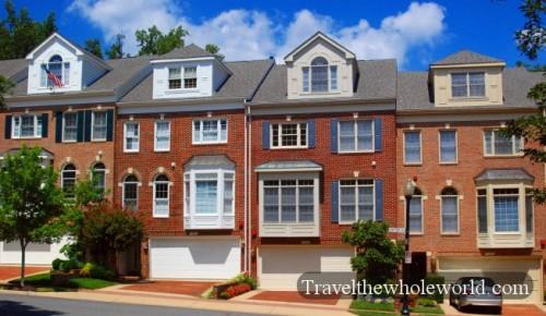 Virginia Arlington Town Houses