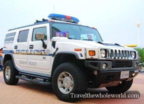 Virginia Beach Police Hummer
